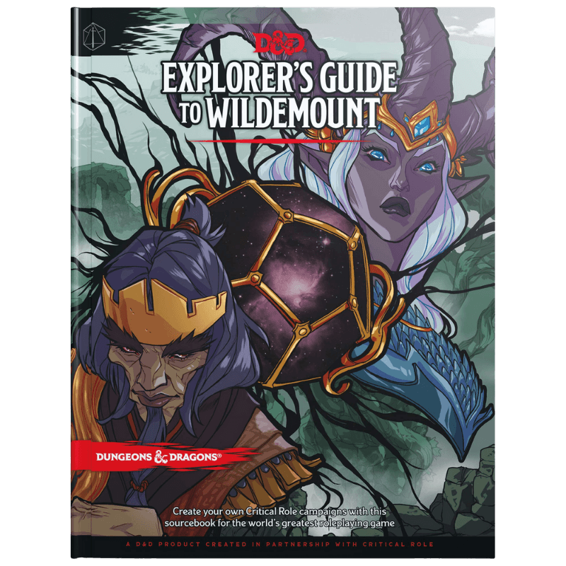 Dungeons & Dragons (5th Edition): Explorer's Guide to Wildemount