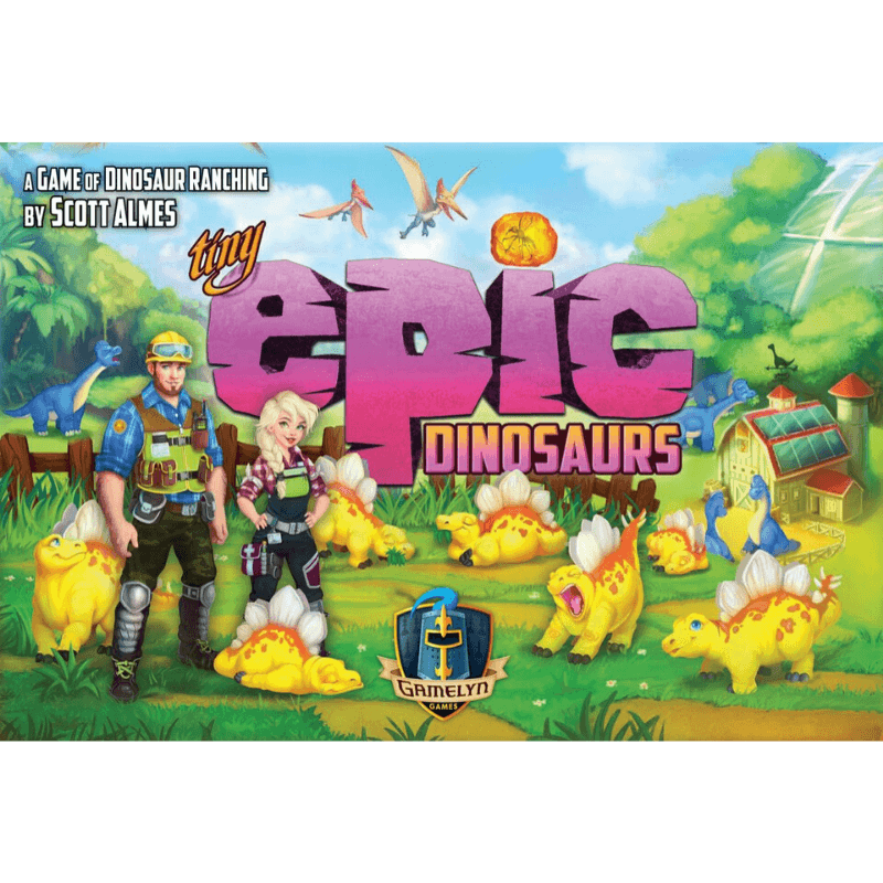 Tiny Epic Dinosaurs -  Gamelyn Games