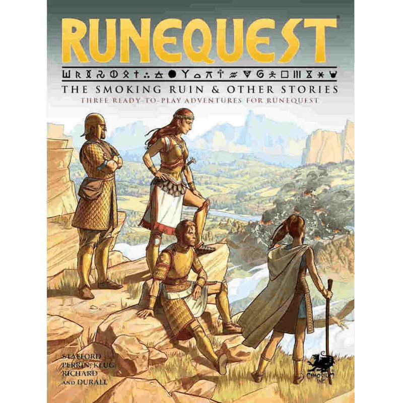 RuneQuest: The Smoking Ruin & Other Stories (PRE-ORDER)