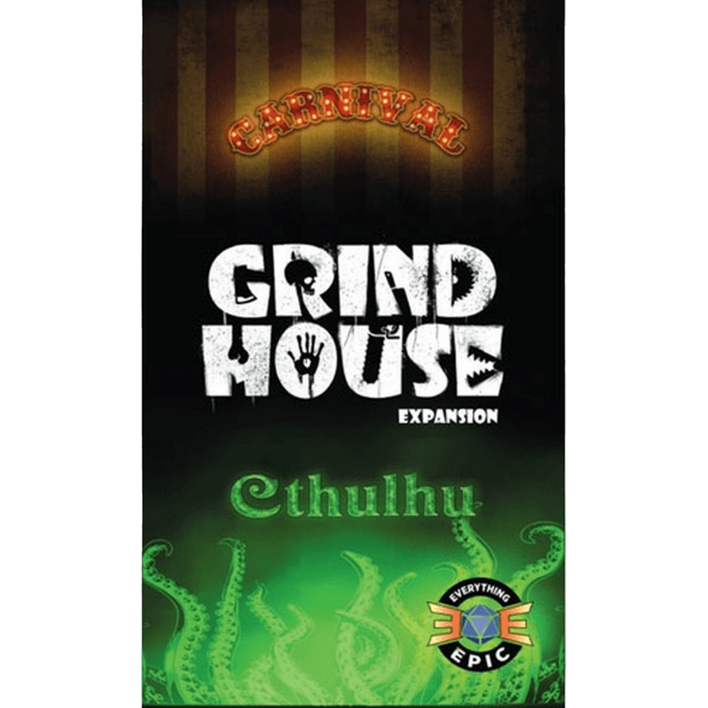 Grind House: Carnival/Cthulhu (PRE-ORDER)