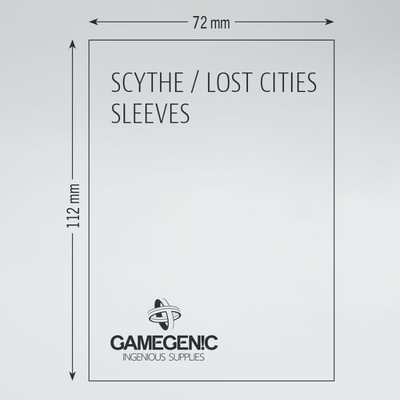 Prime Board Game Sleeves: Scythe / Lost Cities