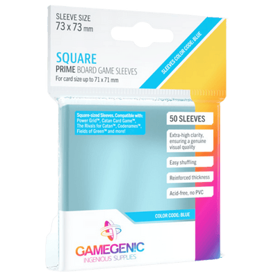 Prime Board Game Sleeves: Square