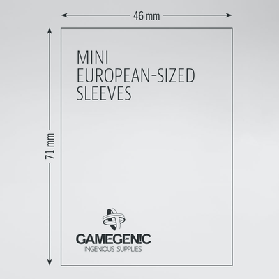 Prime Board Game Sleeves: Mini European