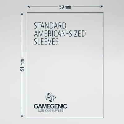 Prime Board Game Sleeves: Standard American