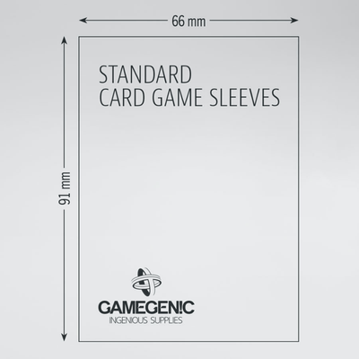 Matte Board Game Sleeves: Standard Card Game