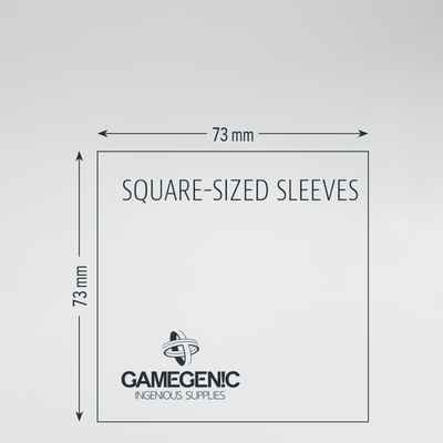 Matte Board Game Sleeves: Square