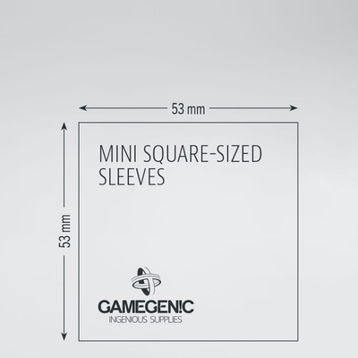 Matte Board Game Sleeves: Mini Square