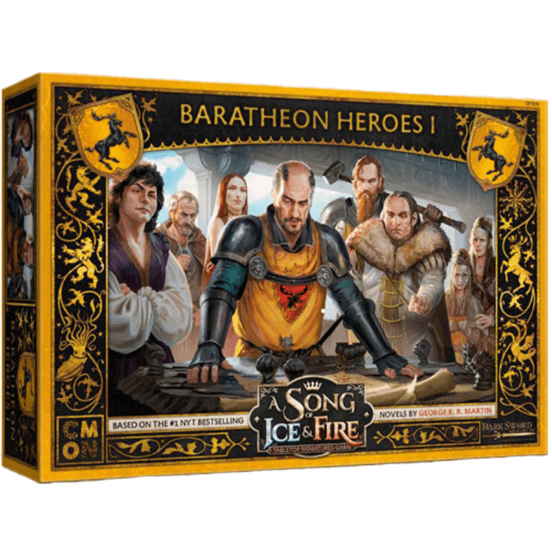 A Song of Ice & Fire: Tabletop Miniatures Game – Baratheon Heroes #1