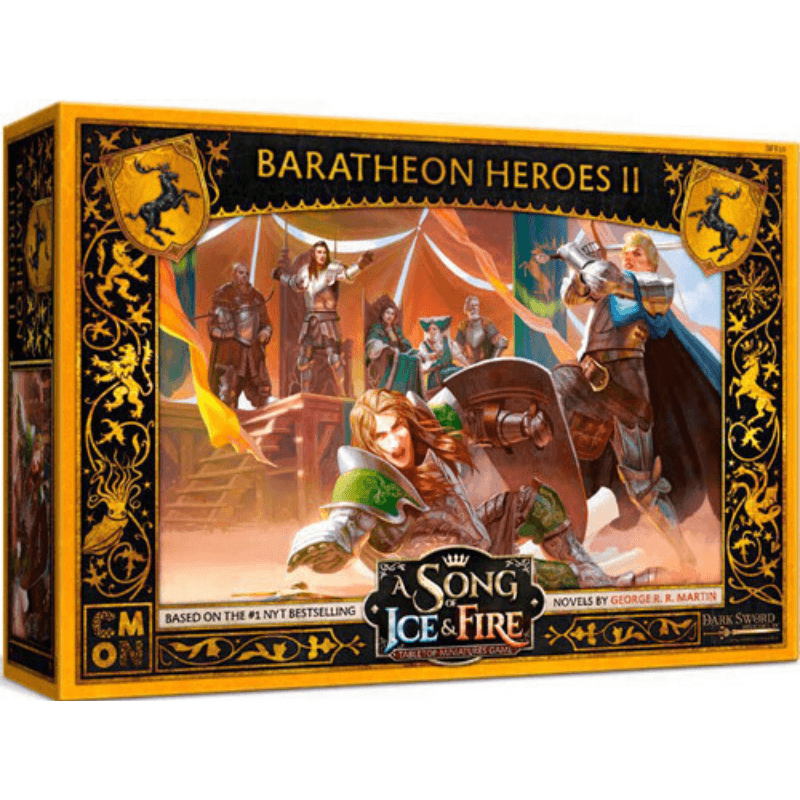 A Song of Ice & Fire: Tabletop Miniatures Game – Baratheon Heroes #2