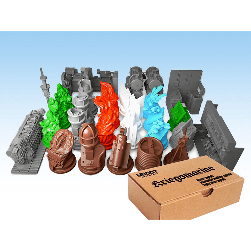 UBOOT: The Board Game - All Resin Pack