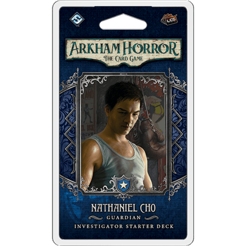 Arkham Horror: The Card Game – Nathaniel Cho: Investigator Starter Deck (PRE-ORDER)