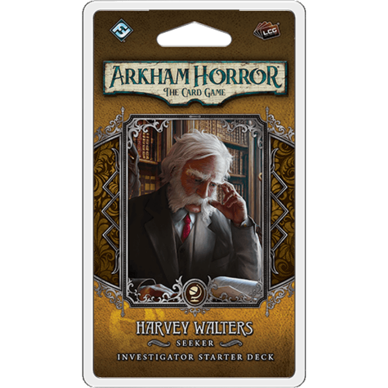 Arkham Horror: The Card Game – Harvey Walters: Investigator Starter Deck (PRE-ORDER)