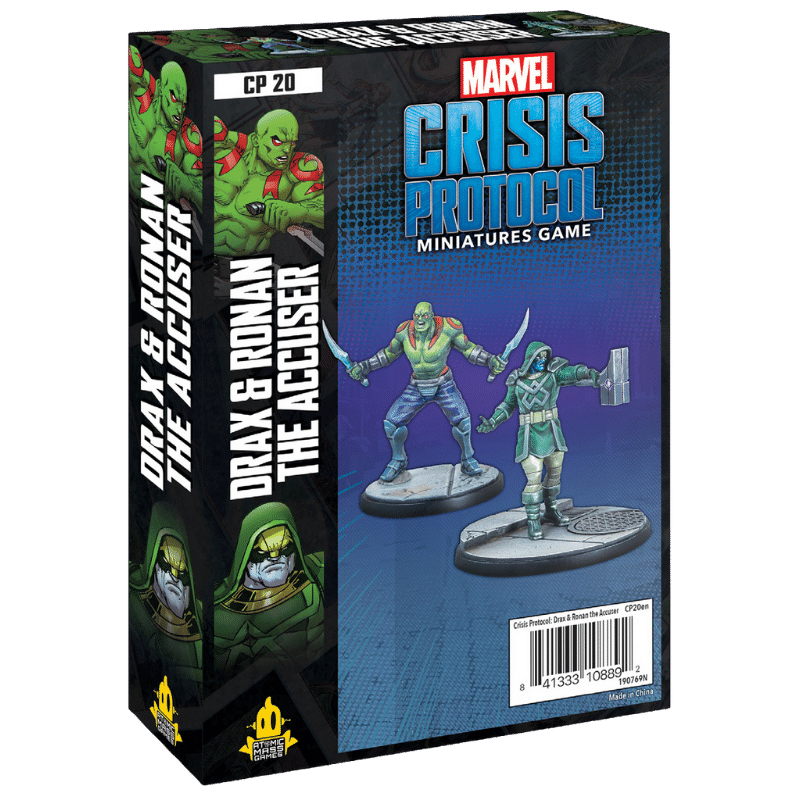 Marvel: Crisis Protocol – Drax & Ronan The Accuser