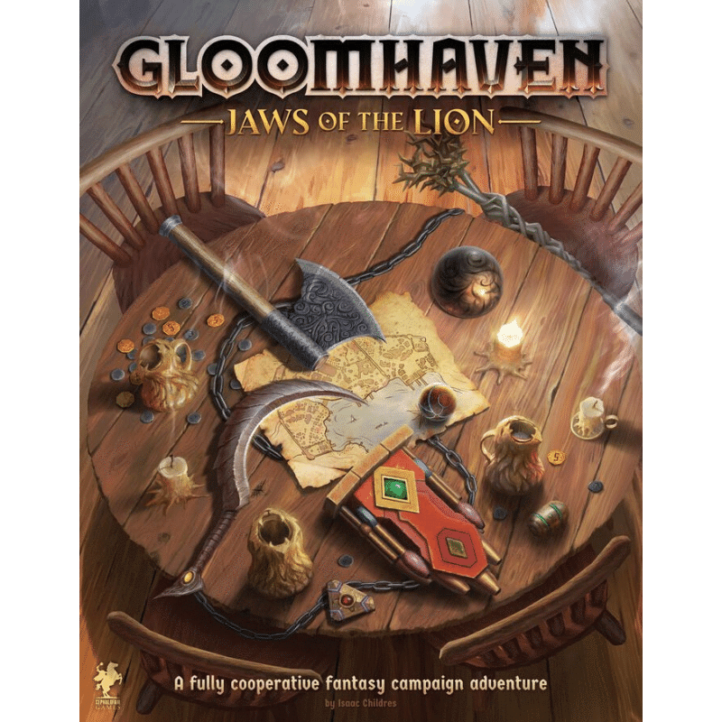 Gloomhaven: Jaws of the Lion (DAMAGED)