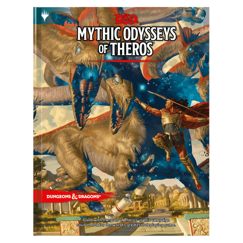 Dungeons & Dragons (5th Edition): Mythic Odysseys of Theros