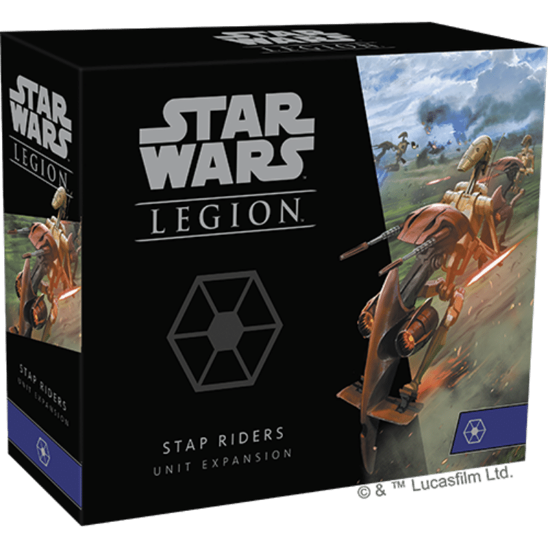 Star Wars: Legion – STAP Riders Unit Expansion (PRE-ORDER)