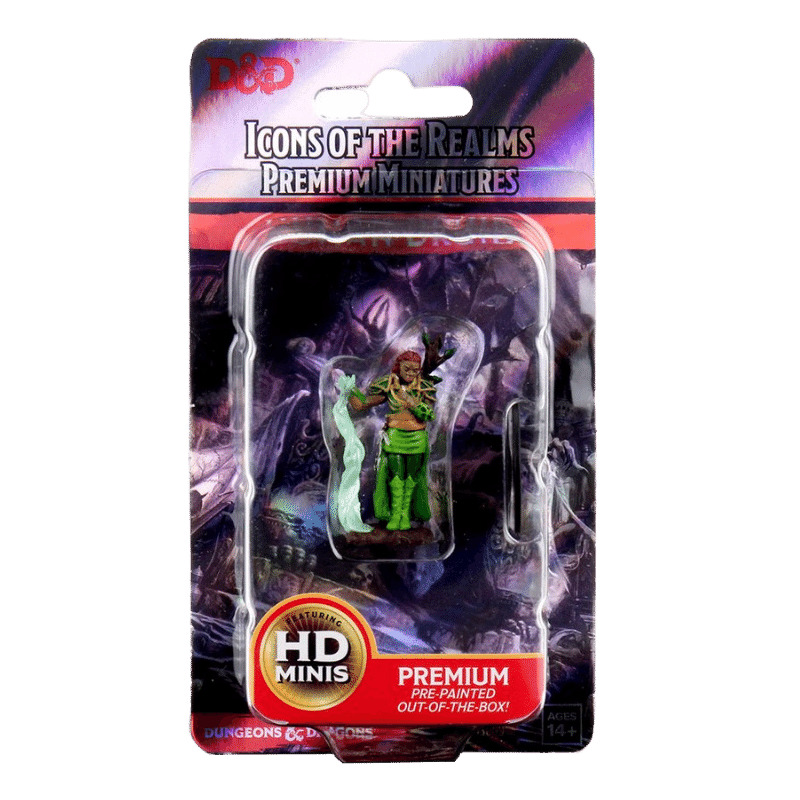 D&D: Icons of the Realms: Human Druid Premium Painted Figure