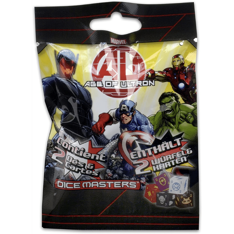 Marvel Dice Masters: Age of Ultron - Booster Pack (5 Packs)