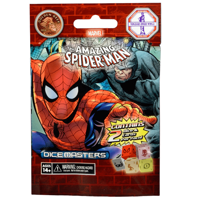 Marvel Dice Masters: The Amazing Spider-Man - Booster Pack (5 Packs)
