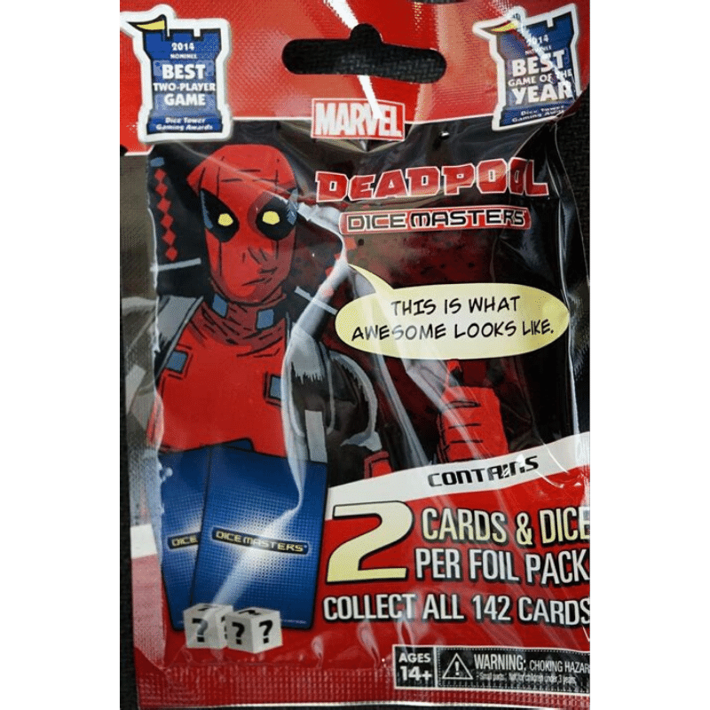 Marvel Dice Masters: Deadpool - Booster Pack (5 Packs)