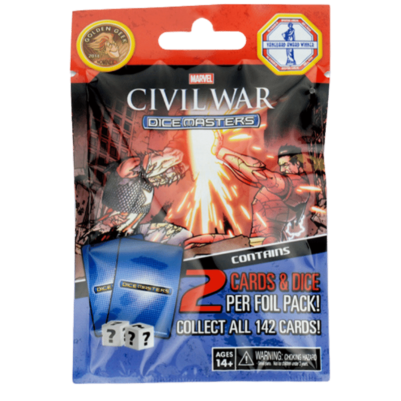 Marvel Dice Masters: Civil War - Booster Pack