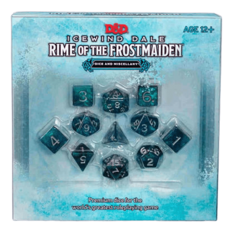 Dungeons & Dragons (5th Edition): Icewind Dale - Rime of the Frostmaiden Dice & Miscellany