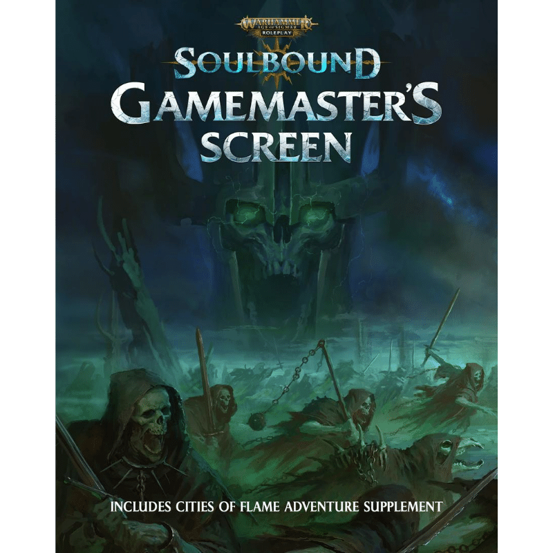 Warhammer Age of Sigmar: Soulbound Gamemaster's Screen (PRE-ORDER)