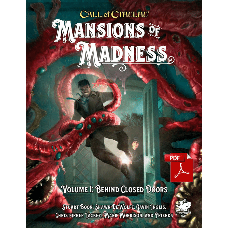 Call of Cthulhu (7th Edition): Mansions of Madness: Vol 1 - Behind Closed Doors (PRE-ORDER)