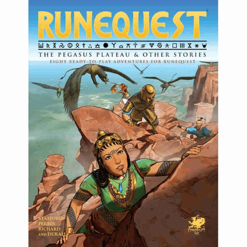 RuneQuest: The Pegasus Plateau & Other Stories (PRE-ORDER)