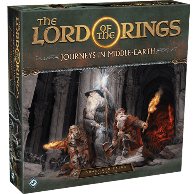 The Lord of the Rings: Journeys in Middle-earth – Shadowed Paths Expansion (PRE-ORDER)