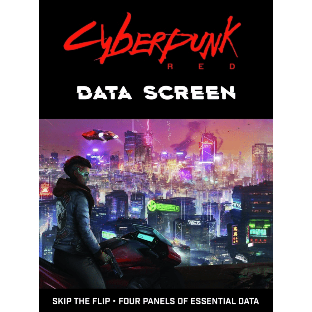 Cyberpunk RED RPG: Data Screen (PRE-ORDER)