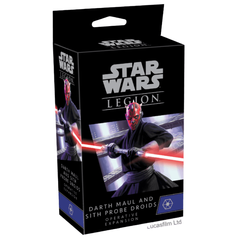 Star Wars: Legion – Darth Maul and Sith Probe Droids Operative Expansion (PRE-ORDER)