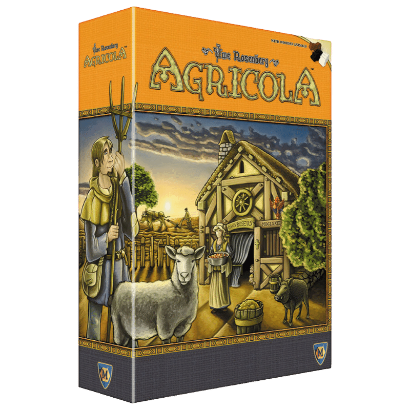 Agricola (revised edition) - Thirsty Meeples