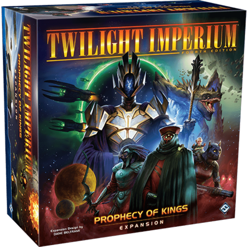 Twilight Imperium: Prophecy of Kings Expansion (PRE-ORDER)