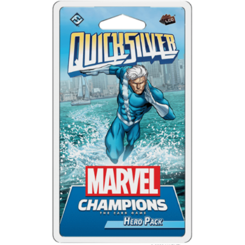 Marvel Champions: The Card Game – Quicksilver (Hero Pack) (PRE-ORDER)