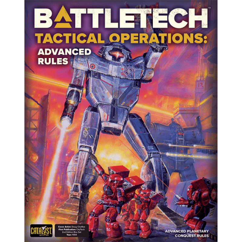 Battletech: Tactical Operations - Advanced Rules