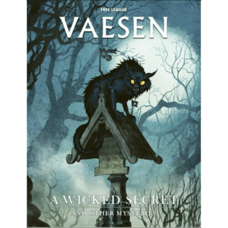 Vaesen RPG A Wicked Secret & Other Mysteries