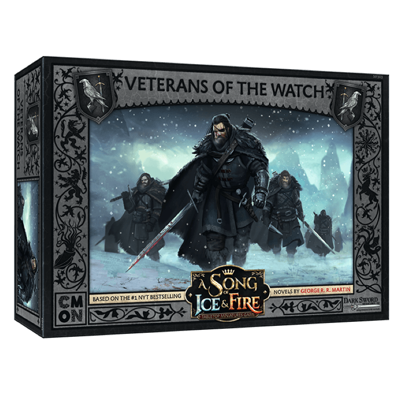 A Song of Ice & Fire: Tabletop Miniatures Game – Night's Watch Veterans of the Watch