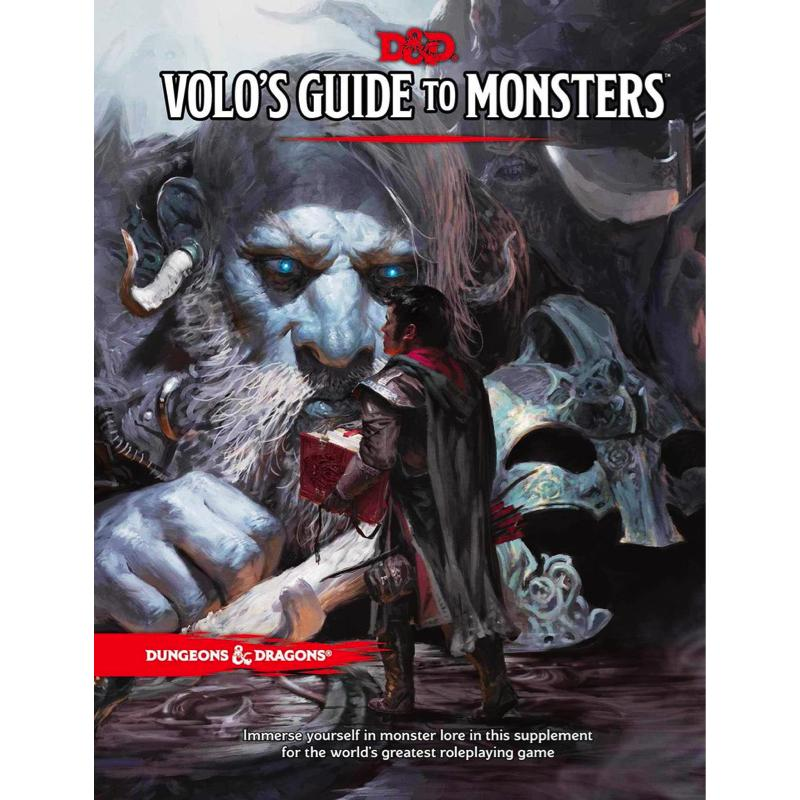 Dungeons & Dragons (5th Edition): Volo's Guide to Monsters