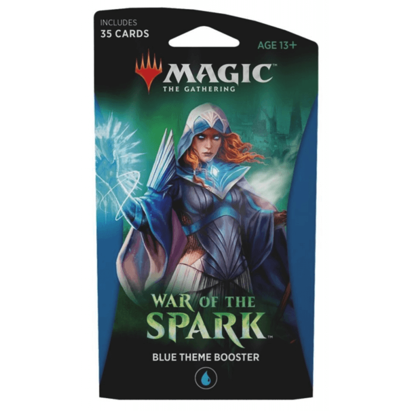 Magic the Gathering: War of the Spark Theme Booster Single - Blue (PRE-ORDER)