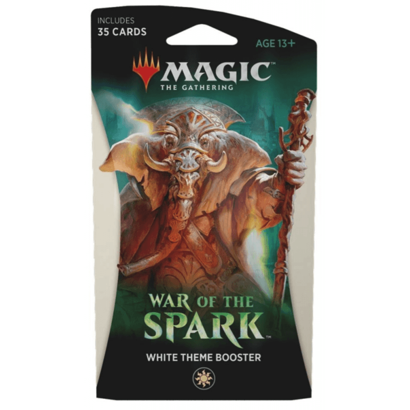Magic the Gathering: War of the Spark Theme Booster Single - White (PRE-ORDER)
