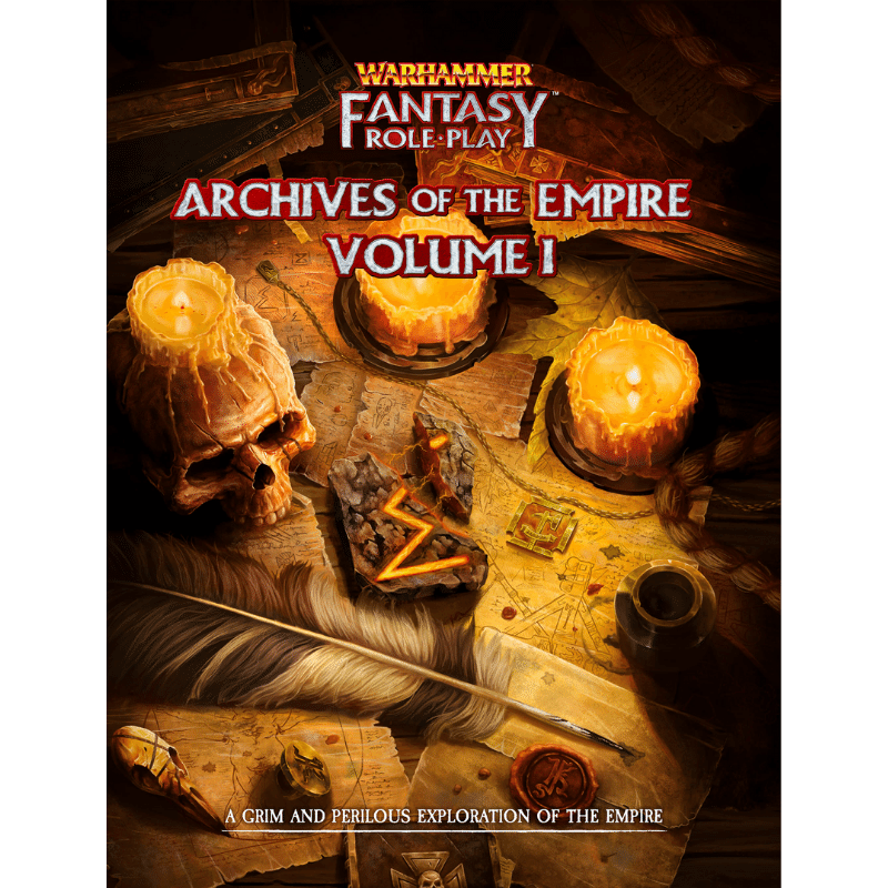 Warhammer Fantasy Roleplay (4th Edition): Archives of the Empire Volume I (PRE-ORDER)