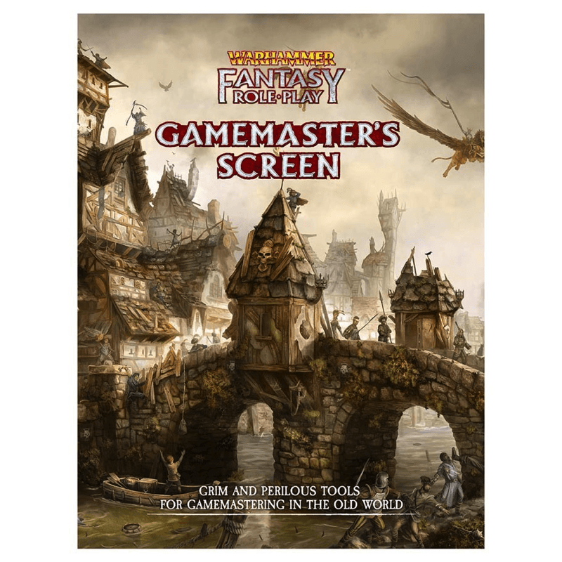 Warhammer Fantasy Roleplay (4th Edition): Gamemaster's Screen (PRE-ORDER)