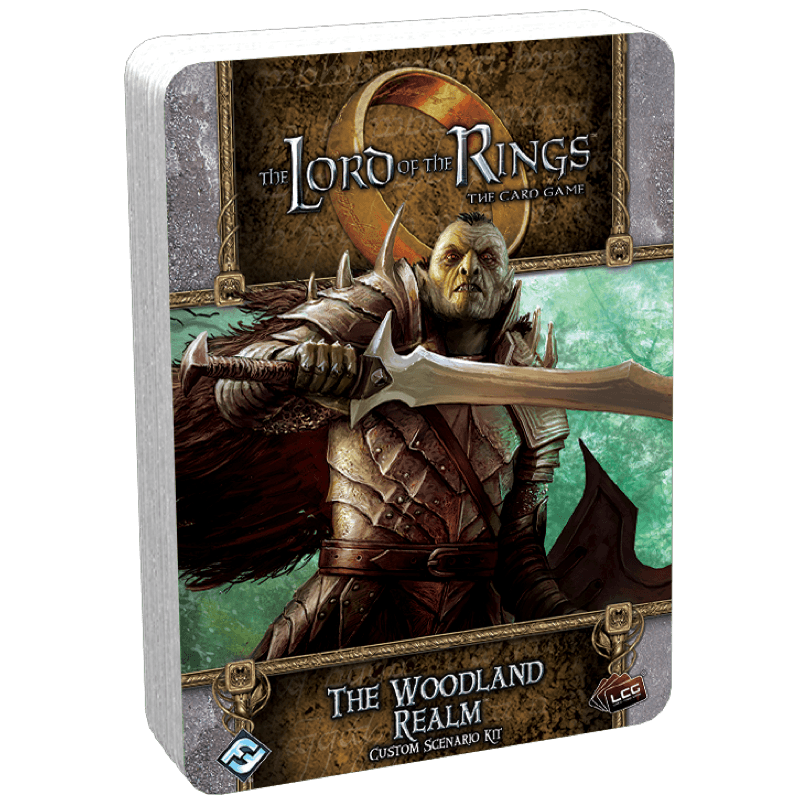 The Lord of the Rings: The Card Game – The Woodland Realm Custom Scenario Kit