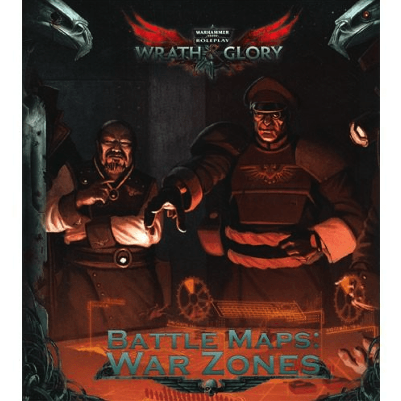 Warhammer 40K: Wrath & Glory - Battle Maps - War Zone