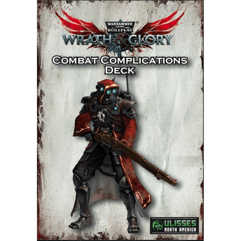 Warhammer 40K: Wrath & Glory - Combat Complications Deck