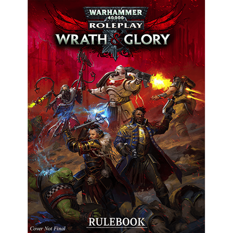 Warhammer 40K: Wrath & Glory - Core Rules (PRE-ORDER)