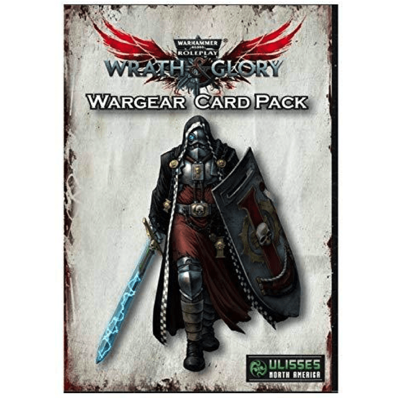 Warhammer 40K: Wrath & Glory - Wargear Card Pack