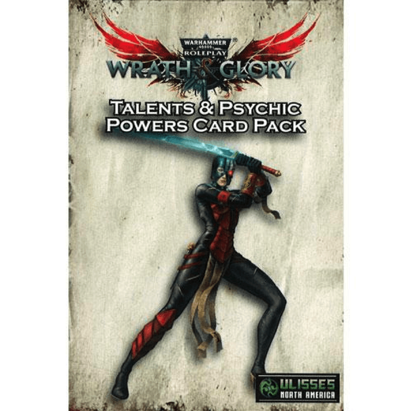 Warhammer 40K: Wrath & Glory - Talents and Psychic Powers Card Pack