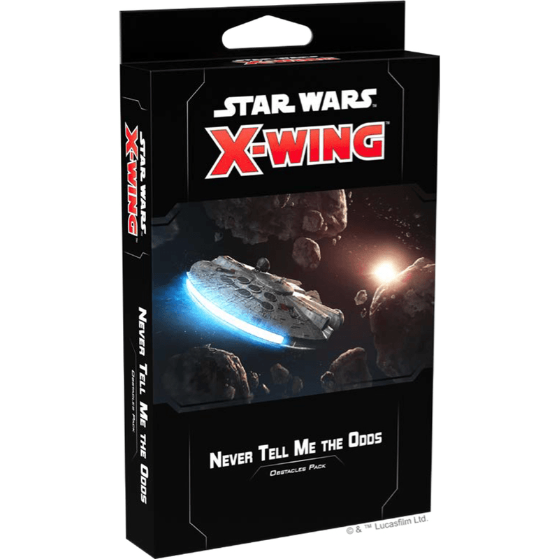Star Wars: X-Wing (Second Edition) – Never Tell Me The Odds Obstacles Pack (PRE-ORDER)